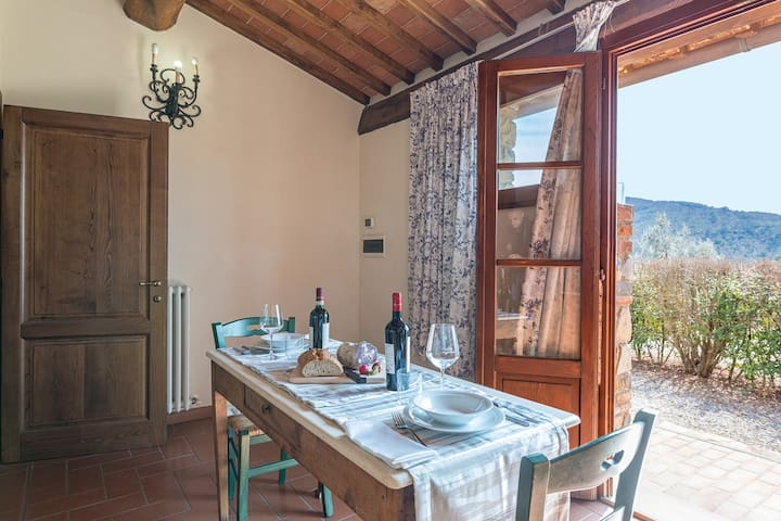 Midway Siena-Arezzo Farmhouse with 5 apts and pool