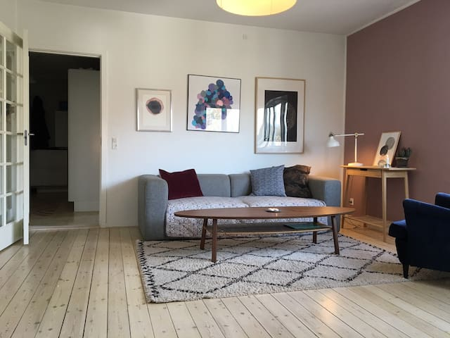 Lovely apartment close to the forest and beach - Gentofte - Huoneisto