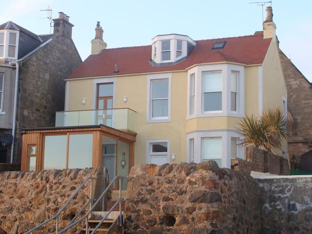 Beach house in Lower Largo (Near St. Andrews) - Lower Largo - Ev