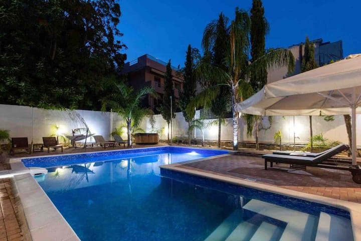 Villa 56-Apartment 2 with big Pool in Rhodes city