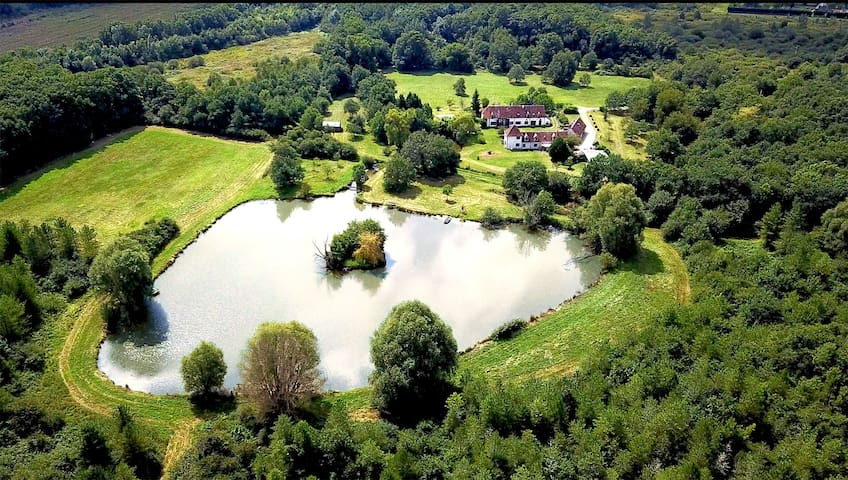 Cottage in Sologne, with an education farm for 10p