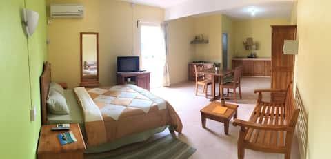 Le Rosier- Apartment mit einem Schlafzimmer und Balkon- 3