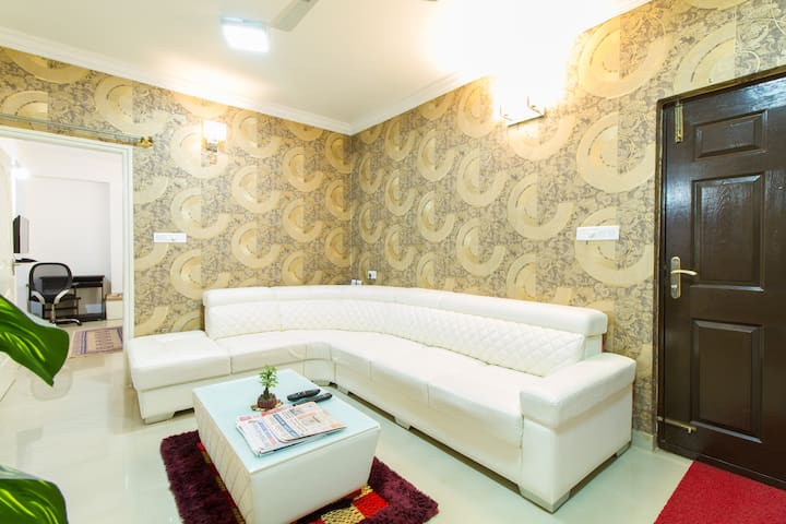 Extended Executive Stay BIAL-Deluxe Executive Room - Bengaluru - Huoneisto