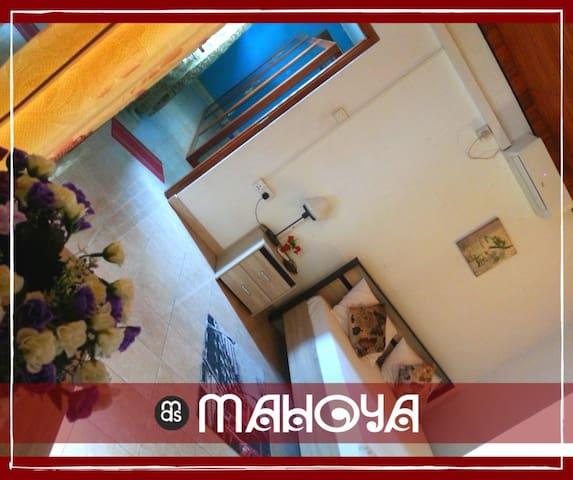 MAHOYARooms#1 Deluxe Double Room w/Balcony (A/C)
