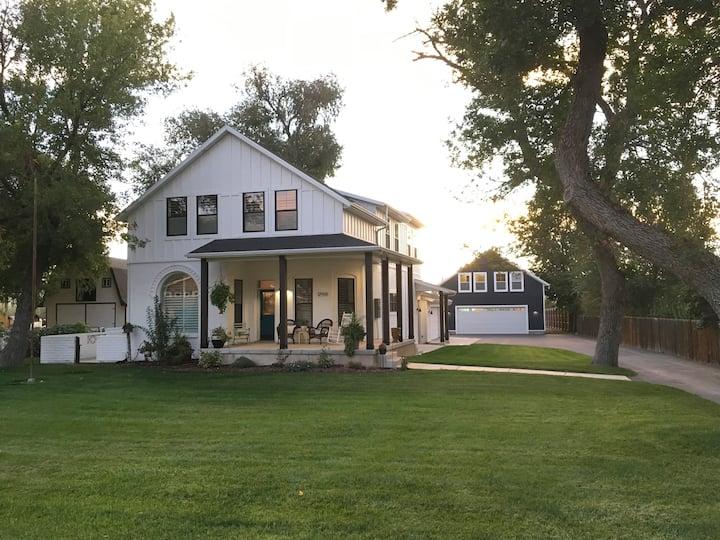 Boutique Design Studio on Historic Utah Property