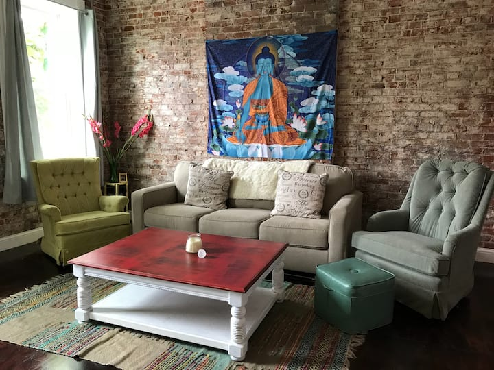 ★New★ Urban Zen Loft In Cherokee Art District