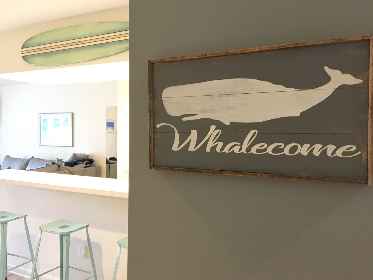 Whalecome to your beach vacation