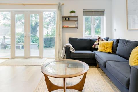 The Garden House, Bungalow de estilo urbano chic revitalizado