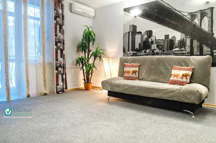 2-комнатная квартира в центре - Kharkiv - Apartment
