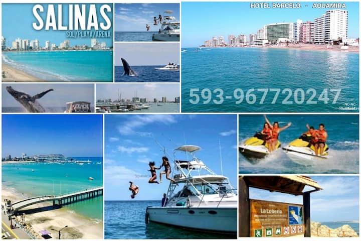 Resort Aquamira Salinas Dept 3° Bedrooms Balcony