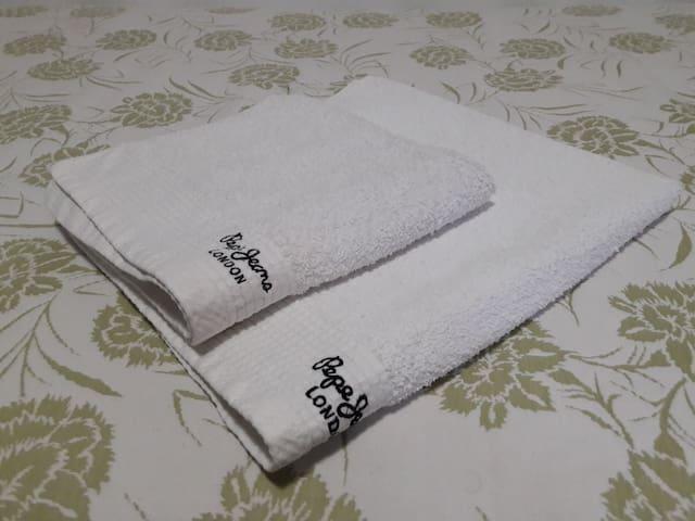toallas de cortesía
