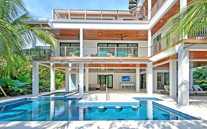 Sail Away - Brand new canal front luxury home, pool with spa and rooftop deck! Don't miss!
