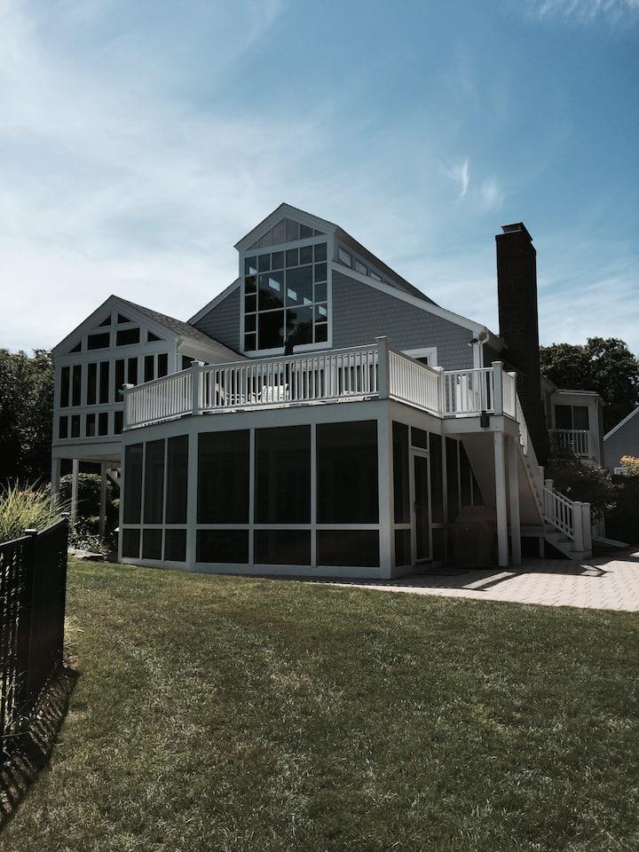 Cape Cod Lakefront Home