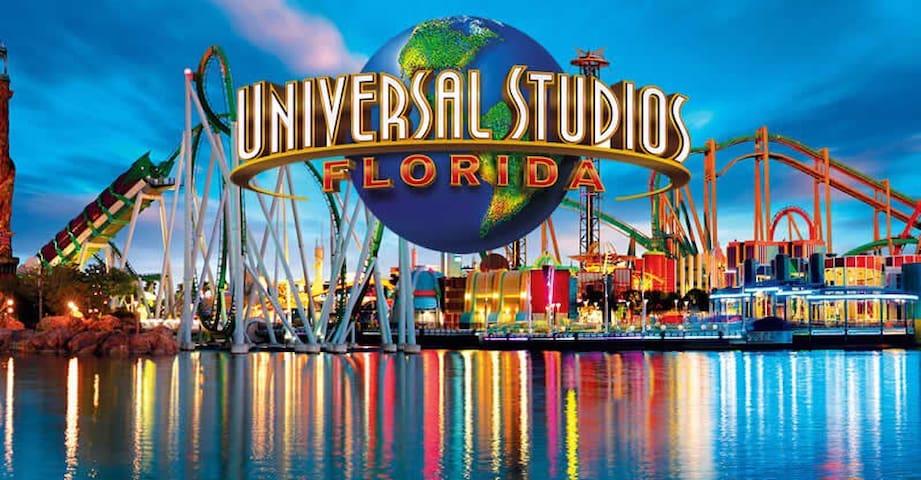 Private SUITE (Bed&Bath) next Universal Studios - Orlando