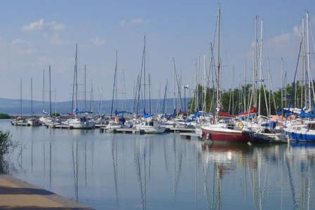 Balatonlelle Harbour