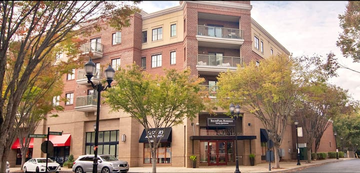 Posh Pied a Terre in Southpark neighborhood