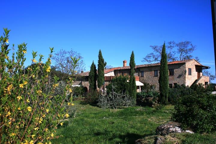 App. Deutzia - Az.Agr. Pietralta - Casale del 1200 - Gambassi Terme - Apartemen