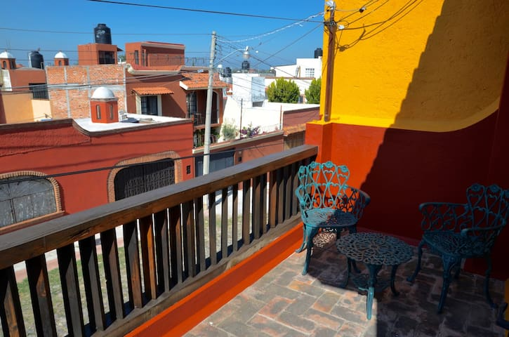 Upstairs Bedroom's Balcony