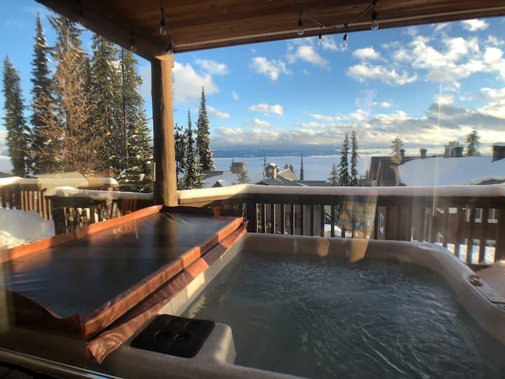 Cozy cabin getaway @ Big White