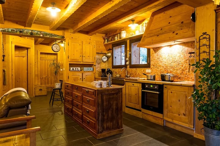 chalet for 12 persons - CHATEL - House
