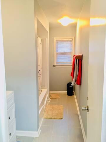 Brand new Full bathroom