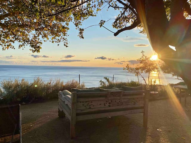 Barn Conversion Magical Ocean Views HotTub FirePit