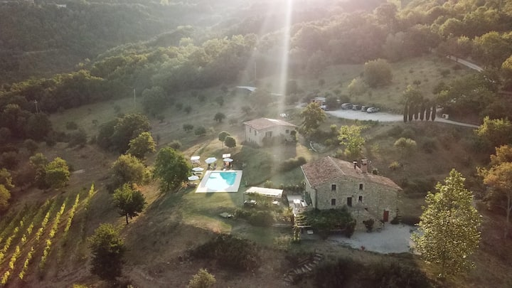 Antico Casal del Bosco B&B in the heart of Umbria