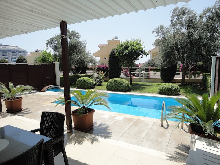 Babylon Private Villa in SİDE with private Pool