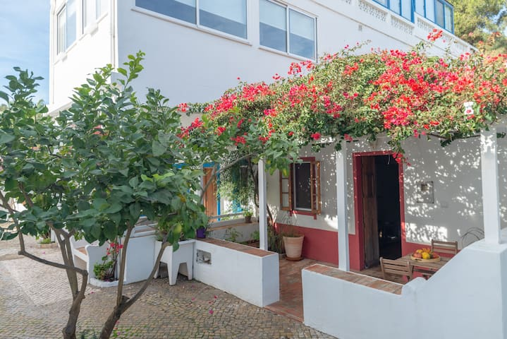Playa de Fabrica apartment, Cacela Velha Algarve with terrace