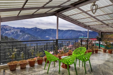 Cozy Attic 2bhk | Terrace With Mesmerizing View