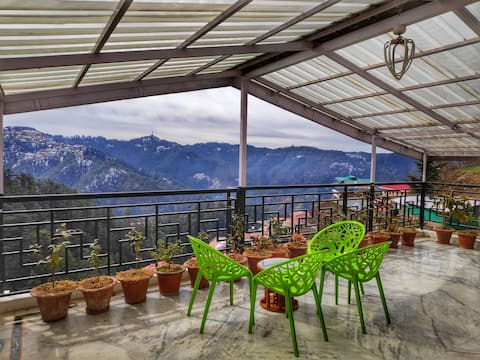 Cozy Attic 2Bedroom |Terrace With Mesmerizing View