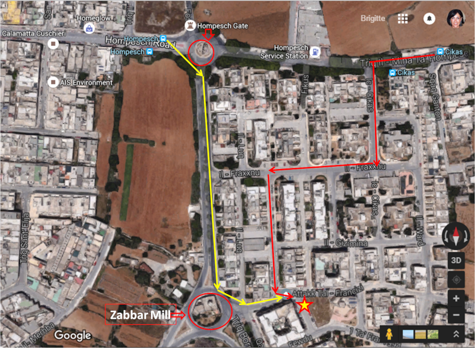how to find your way to us....Misrah il-Qalbiena Maltin...its 8 minute away from airport by car...bus stop Ghollieq or Cikas