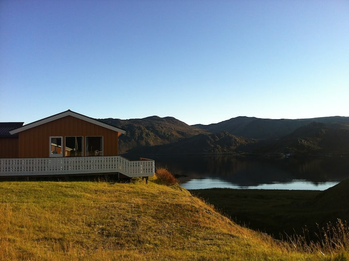 Nordkapp cabin with sea view