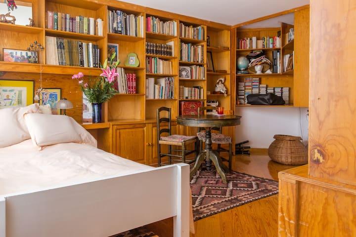 Habitación/estudio con baño privado acogedor - Ciudad de México