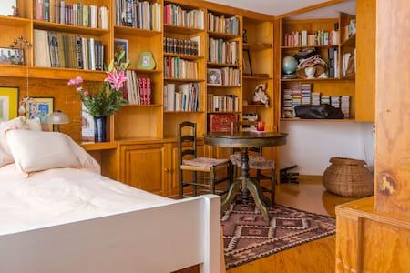 Habitación/estudio con baño privado acogedor Loft - 멕시코시티(Ciudad de México) - 단독주택