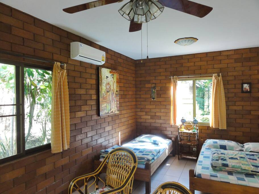 Private Bungalow one dbl and one sgl bed