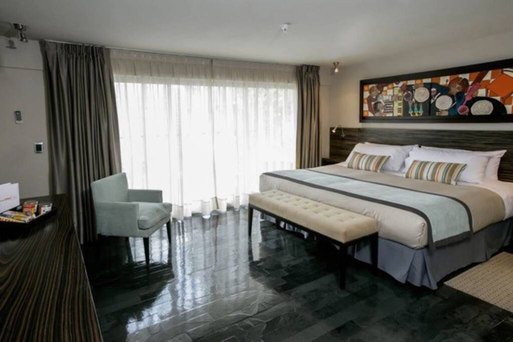 Hab superior familiar bed breakfasts for rent in for Habitacion familiar en once