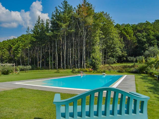 Il Palazzac-  Apartment in villa with pool. Lucca