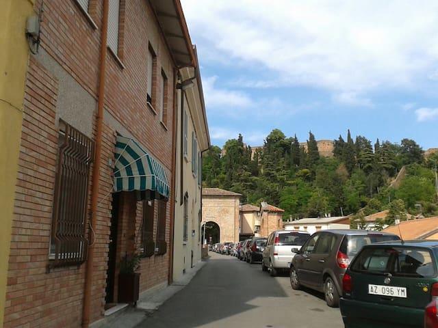 la casetta sul ponte di San Martino - Cesena - Haus