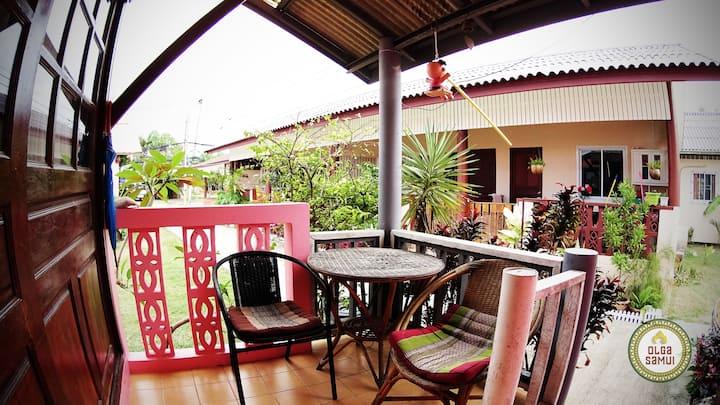 Lamai. Pink House
