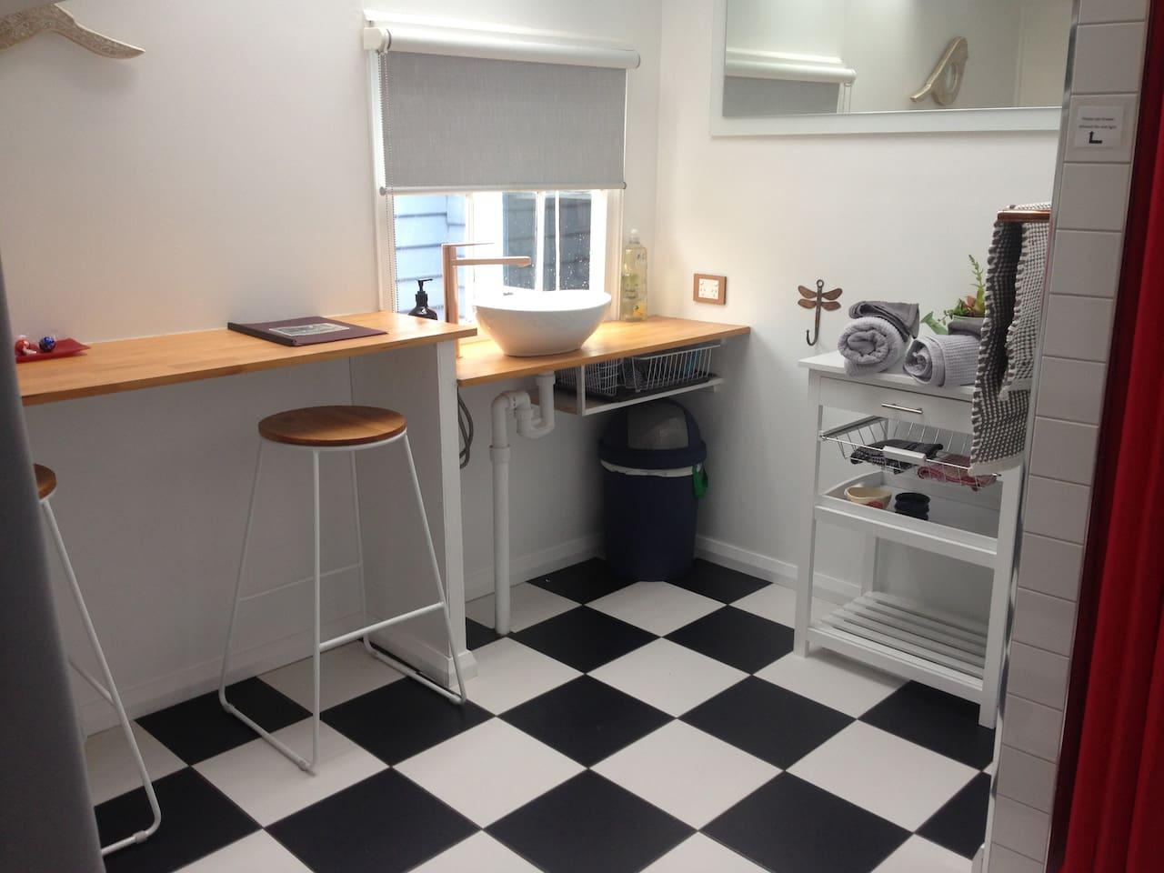 Stylish little kitchenette