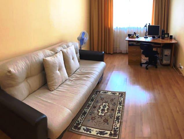 Уютная квартира с прекрасным расположением