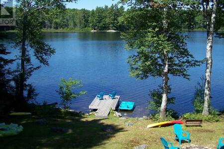 Peaceful Muskoka retreat on Heeney Lake - Baysville - Blockhütte