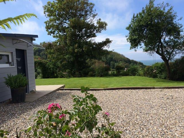 Les Terrasses magnifique VUE MER! 4/5 personnes - Berneval-le-Grand - Hus