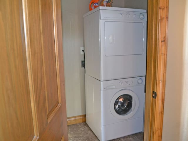 Laundry for guests use