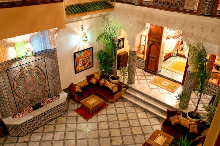 "Boutique-Hotel Fez: Junior Suite ""Lavande"""