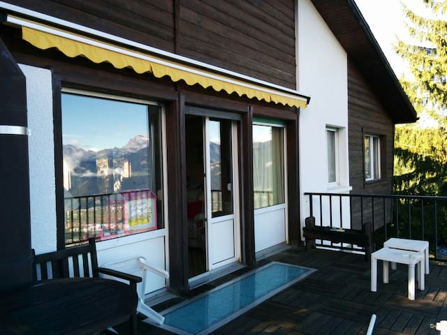 Cosy holidays Chalet - in the Swiss Alps - Torgon - Chatka w górach