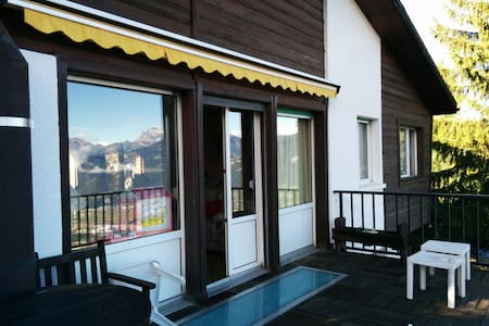 Chalet for holidays - little paradise - Torgon