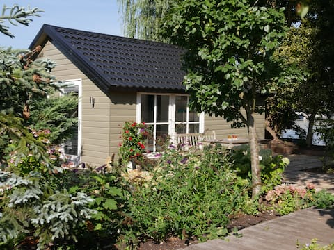 Guesthouse on private island near Amsterdam