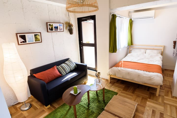 1 Min to Station Cultural Area Free Pocket WIFI - Bunkyō - Apartment